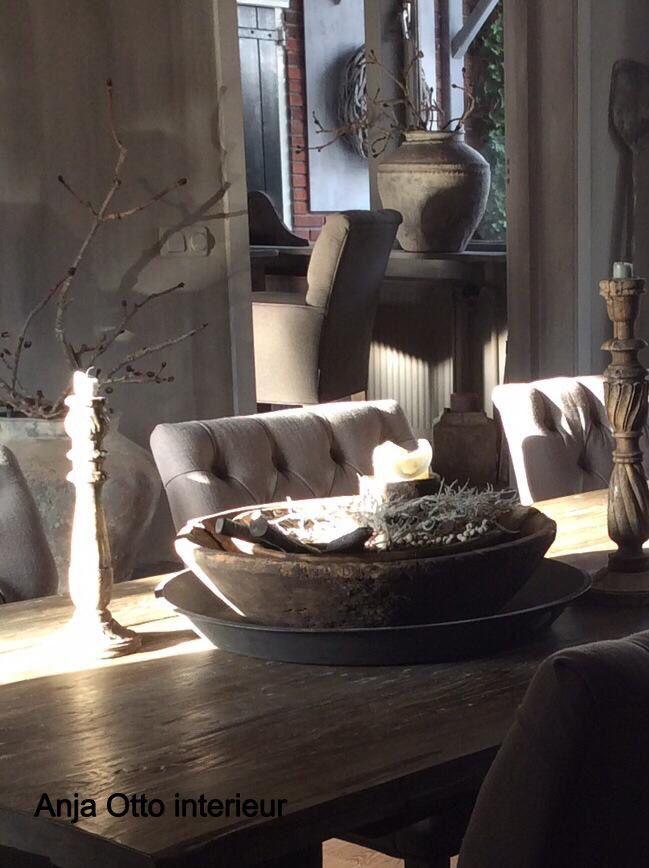 17 beste afbeeldingen over stoer landelijk wonen op pinterest open haarden grijs en huiskamers - Gordijnen landelijke stijl chique ...