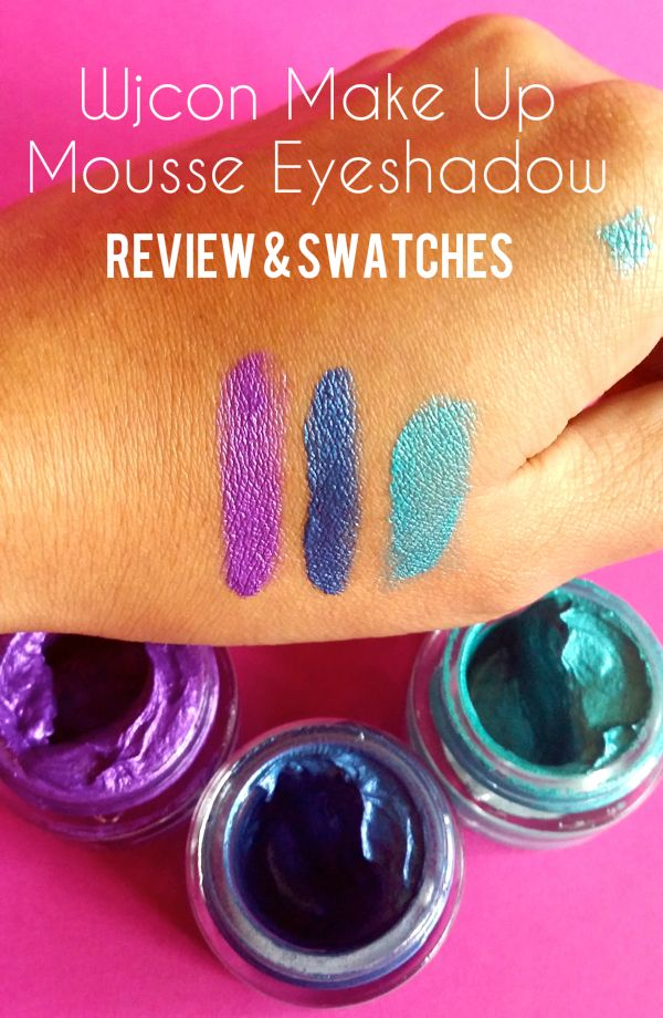 Wjcon Make Up Soft Mousse Eyeshadow Review & Swatches