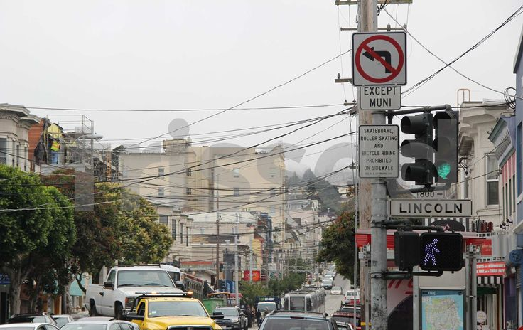 How many wires are there in San Francisco in America?