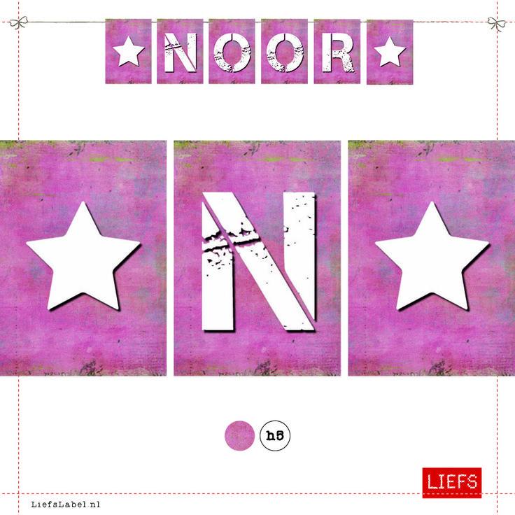 Noor ♡ Kids ♡ Thema Kiki ♡ Maak ook je eigen slinger! ♡ www.LiefsLabel.nl