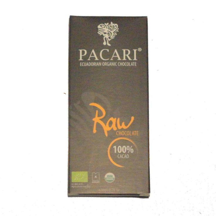 Pacari, 100% cacao.