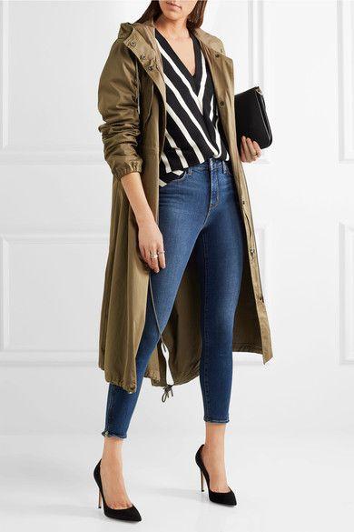 L'Agence - Andrea High-rise Skinny Jeans - Dark denim - 30