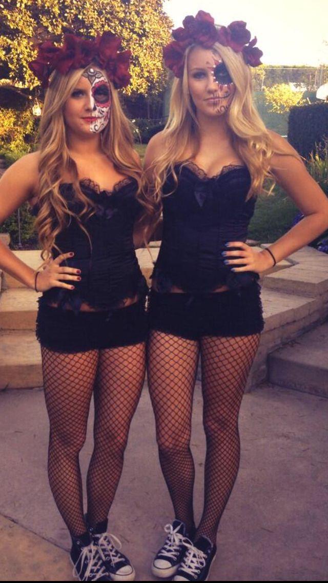 Dia de Los Muertos Rave Costume (Twinning)