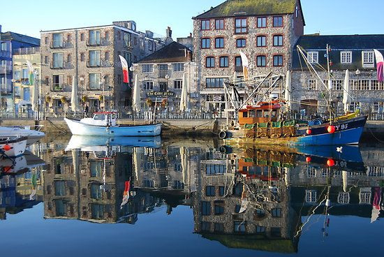 Plymouth Barbican, water