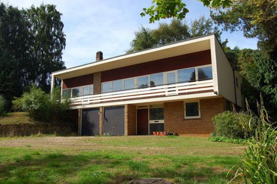 Candleriggs 1960s modernist property in woodbridge for Architecture 1960
