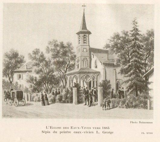 Eglise des Eaux-Vives, Genève