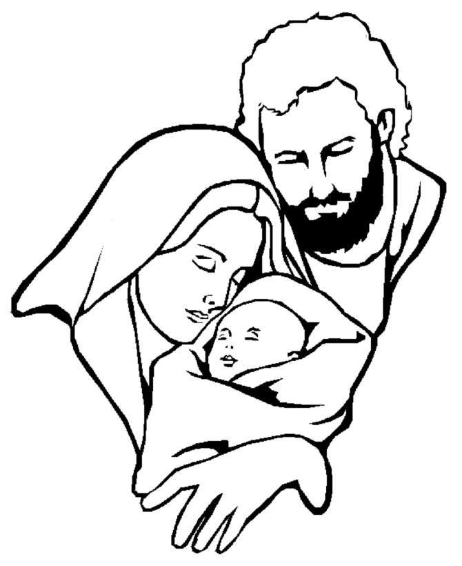 153 best painting templates nativity images on pinterest ... - Baby Jesus Coloring Pages Kids