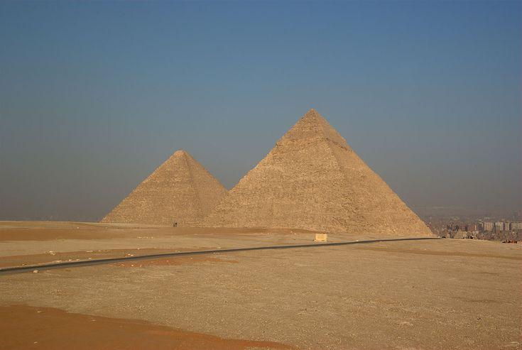Verborgen ruimtes ontdektin Piramide van Cheops