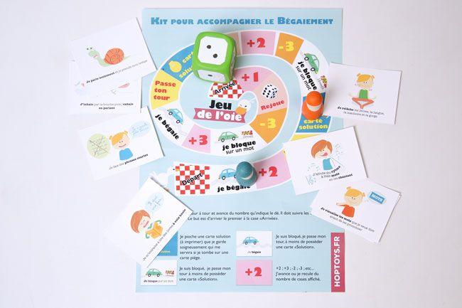 Kit pour accompagner le bégaiement à télécharger Voici un kit ludique contenant des conseils et techniques pour lutter contre le bégaiement. Les cartes conseils dites « Solution » sont utilisables seules ou avec le plateau de jeu.