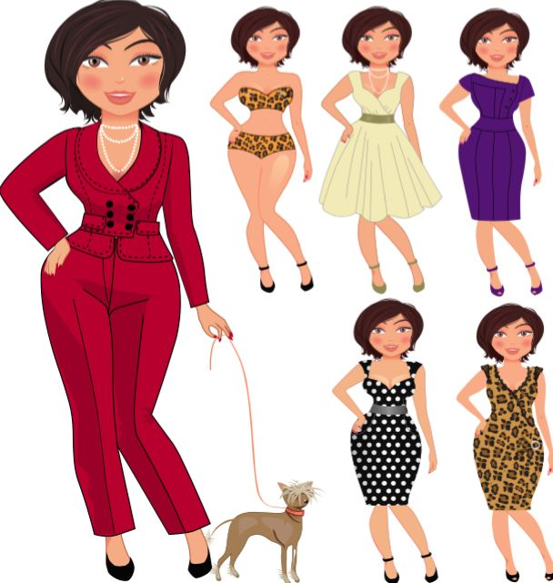 7 Style Tips to Rock Your Curvy Body http://doreendove.com/2017/01/7-style-tips-rock-curvy-body/