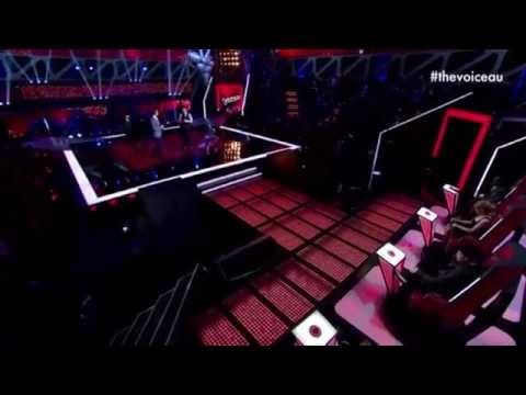 Lovely.  Harrison Craig singing Moon River on TheVoiceAustralia