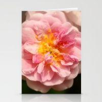 Rose heart / Coeur de rose. Stationery Cards