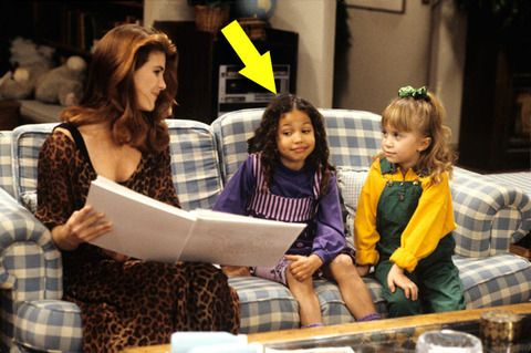 """Jurnee Smollett was only 6-years-old when she first played Michelle Tanner's friend and classmate Denise in the early '90s television show """"Full House."""""""