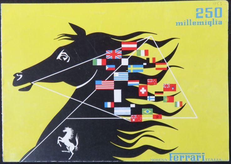 FERRARI Catalogue de la 250 MM - Osenat - 09/11/2014