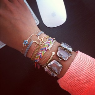 #ArmParty bracelets! @Ornamentea