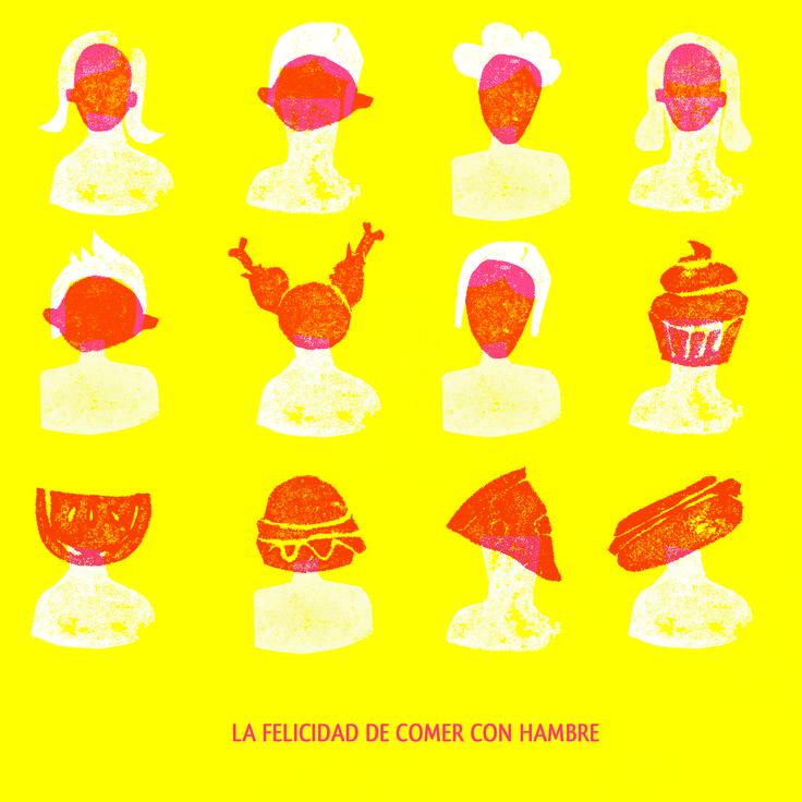 La felicidad de comer con hambre // Francisca Balbontin // 2015