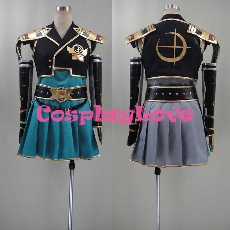 New Custom Made Japanese Game Samurai Warriors Chronicles 3 Sengoku Musou Female Protagonist Cosplay Costume #Affiliate
