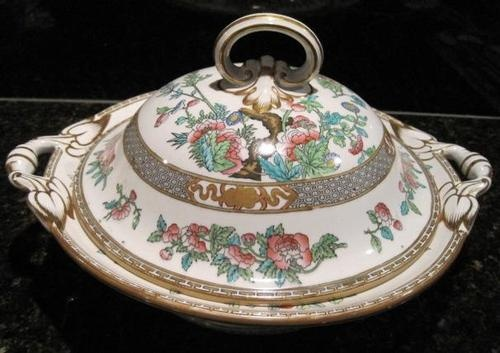 Minton,  Indian Tree Covered Vegetable Dish.
