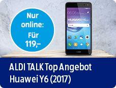 ALDI TALK Top Angebot Huawei Y6 (2017)