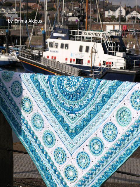 About Winter Blanket by Emma Aldous | LillaBjörn's Crochet World