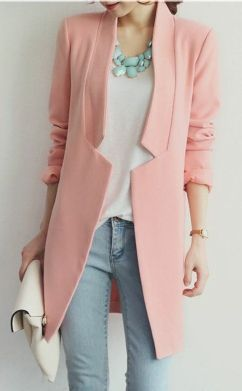 pink blazer... I need this for Iran