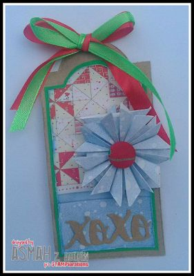 Tag by Asmah for the December TAGplorations Challenge - All About Christmas