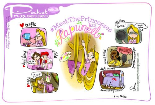 Pocket Princesses 163: Meet RapunzelPlease reblog, do not repost...