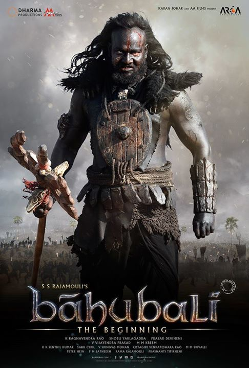 A Warlord, a barbarian – Only violence gives him peace. #KalakeyaWarlord #Baahubali #LiveTheEpic