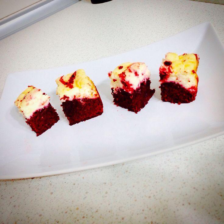 Red Velvet cheese cream Brownies