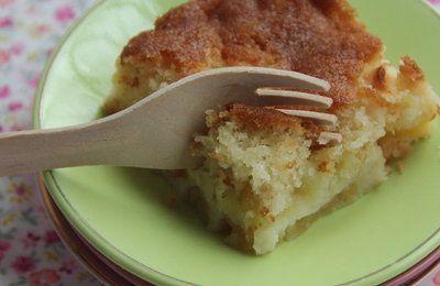 Gâteau ultra moelleux aux pommes