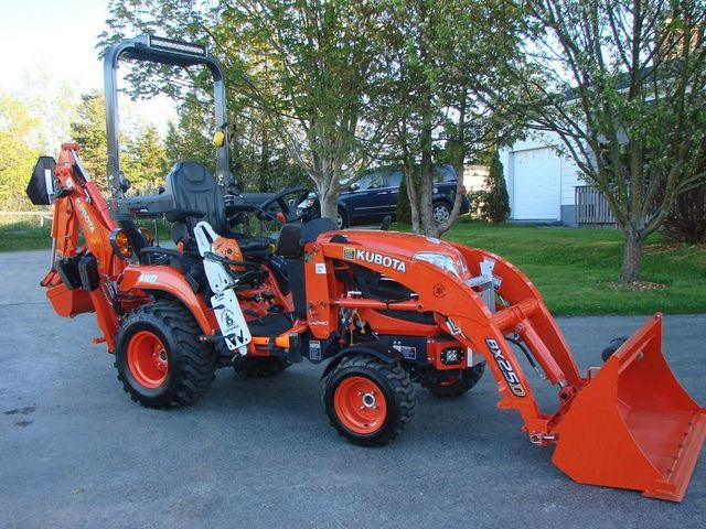 Nice Kubota BX all tricked out ;)