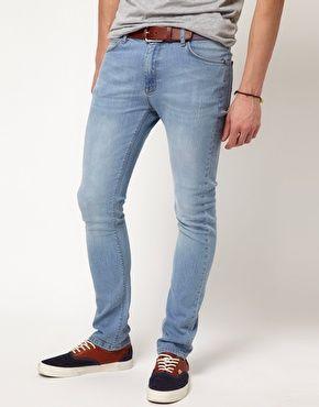 ASOS - Jeans super skinny blu