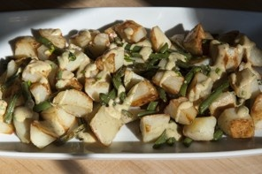 Roasted Potatoes and Green Beans With Mustard Drizzle Recipe Details | Recipe database | washingtonpost.com