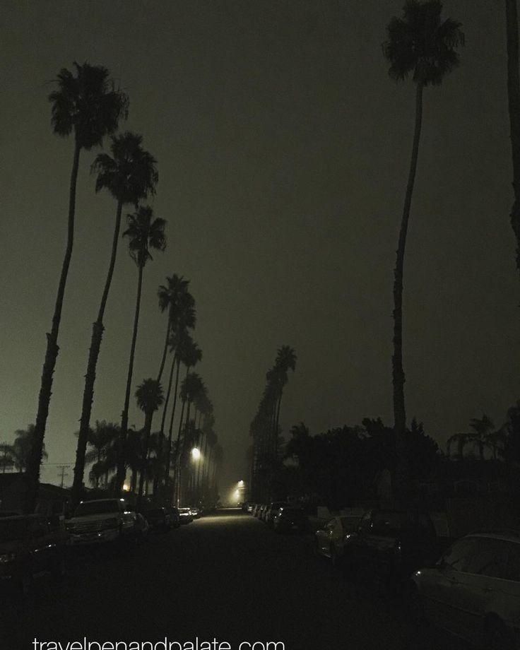 A lightly misty night in Oceanside #California. #saturdaynight #exploringUSA #nightphotography