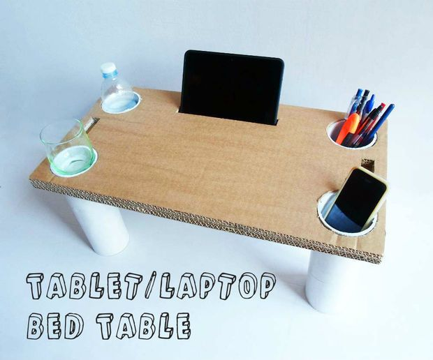 Tablet & Laptop Bed Table