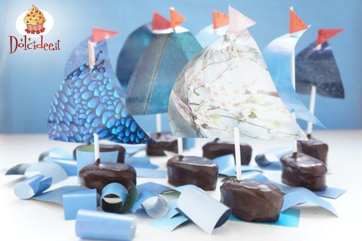 #Cakepops a vela. Scopri il tutorial su http://www.dolcidee.it/tutorial-per-ogni-occasione/-/asset_publisher/MSYwydEA2XQ7/blog/cakepops-barche-a-vela