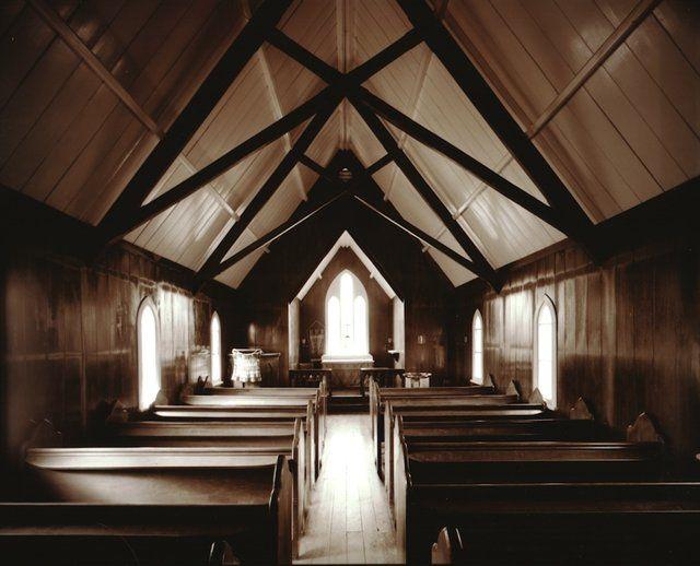 Laurence Aberhart — Interior, St. Mathew | Ocula.com