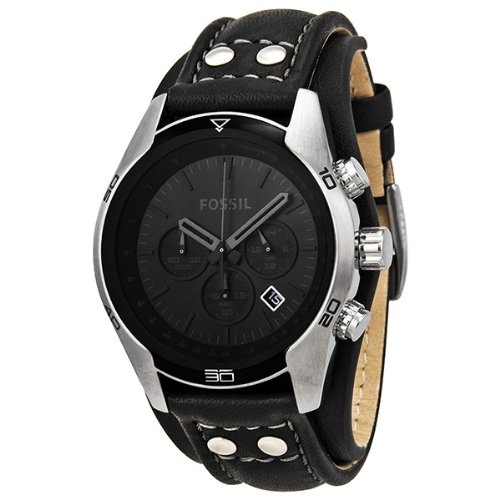 Fossil Trend Chronograph Black Dial Black Leather Mens Watch CH2586 - http://www.styledetails.com/fossil-trend-chronograph-black-dial-black-leather-mens-watch-ch2586 - http://ecx.images-amazon.com/images/I/51-59T5uYmL.jpg