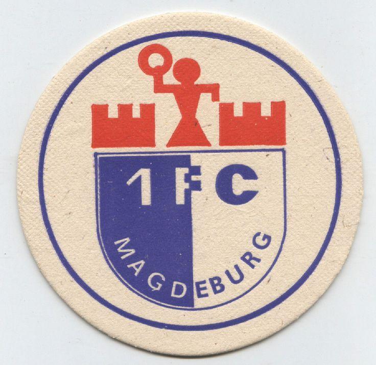 DDR-Fußball-Bierdeckel 1. FC Magdeburg