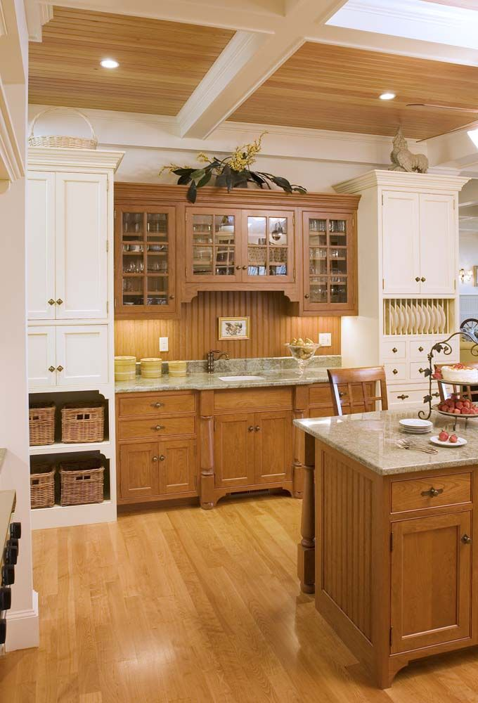 Best 36 Best Stained And Painted Cabinets Together Images On 640 x 480