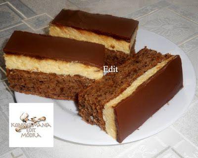 Receptek, és hasznos cikkek oldala: Diós, gesztenyés sütemény vaníliás krémmel