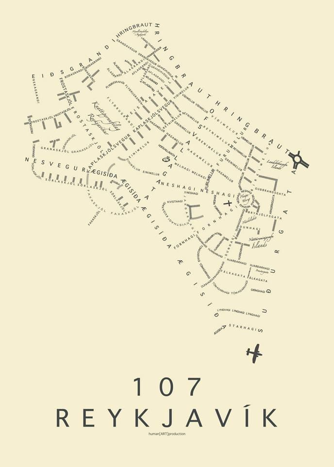107 Reykjavík ❤