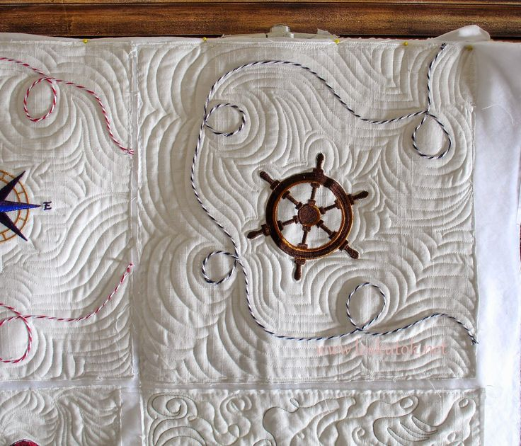 -БЕЛОШВЕЙКА-: Морские подушки.