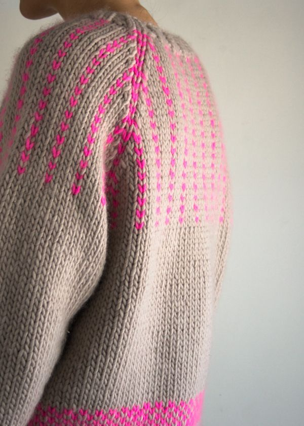 Lauras Loop: The Purl Soho Friendly Fair Isle Sweater | The Purl Bee