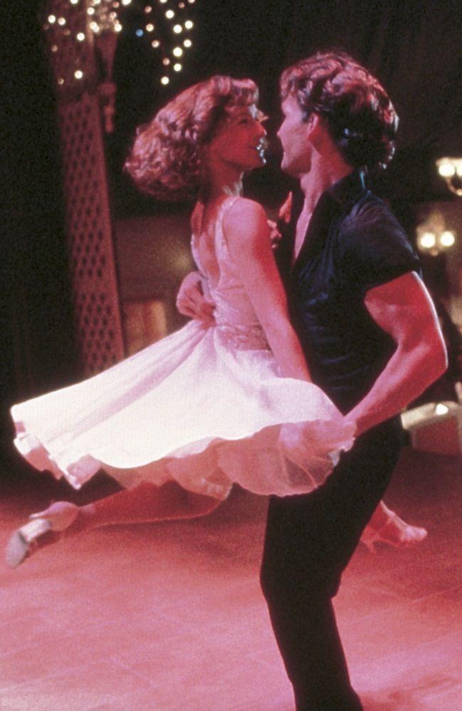 'Dirty Dancing' - Jennifer Grey, Patrick Swayze - 1987 - '50's dresses & hairstyles.