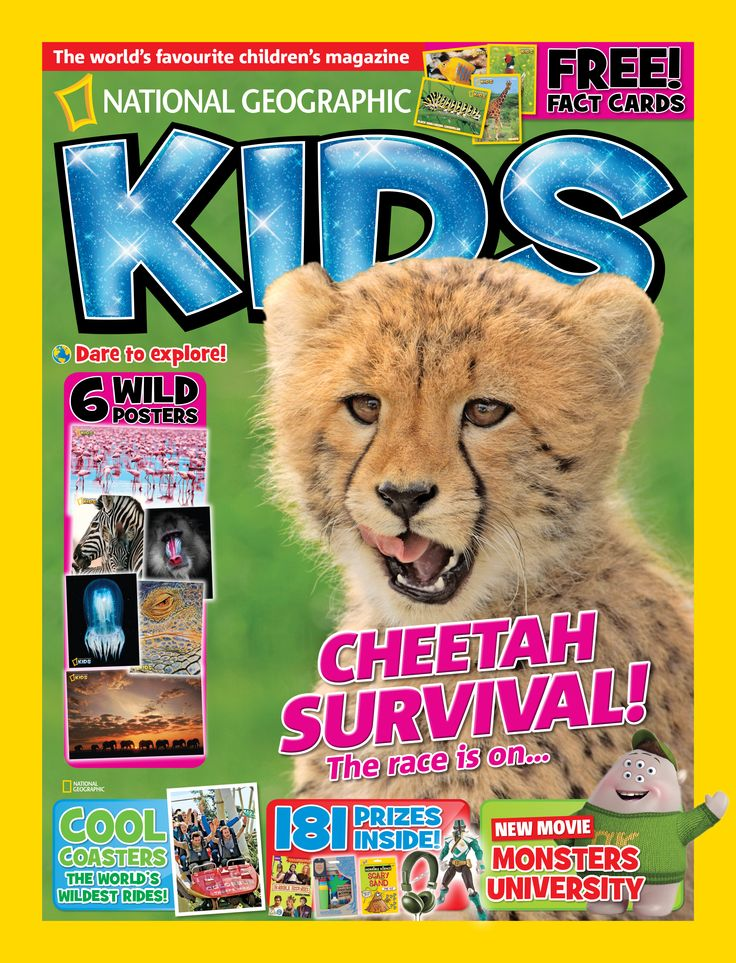 National Geographic Kids, July 2013