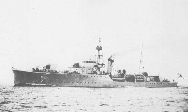 Gunboat Hashidate, June 1940. CV-16