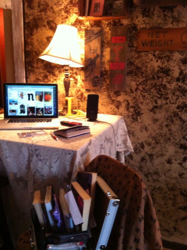 Simple but elegant = my desk