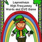 Two games are included in this packet. In both games, players use step by step drawing illustrations to complete a leprechaun. Game ends when one p...