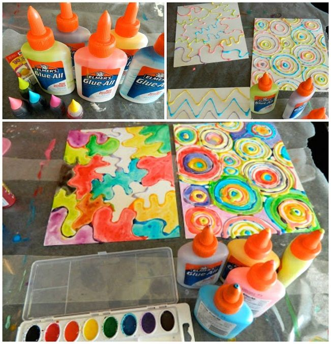 I ran across this brilliant painting technique idea and just had to share with you guys! The finished art projects look just amazing. Kids would LOVE to make one! Supplies Needed: Glue bottles Neon food coloring Watercolors Find the FULL directions here made by JenniCanKnit! Make sure to follow Crafty Morning on Facebook, Pinterest, and Instagram or …